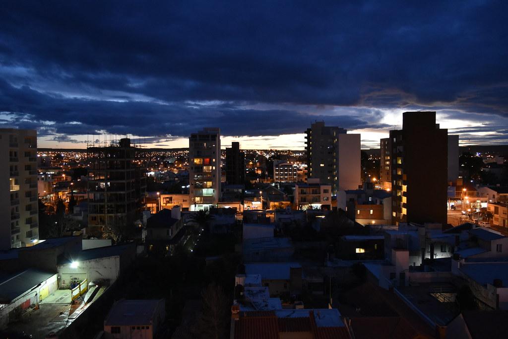 Vista a la ciudad desde la Habitación