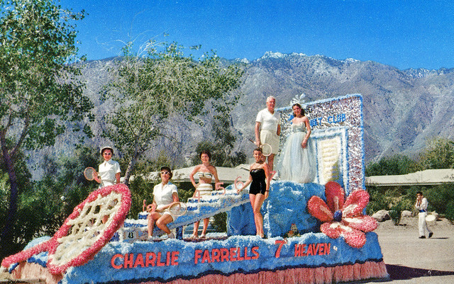 Charlie Farrells 7 Heaven, Palm Springs, California