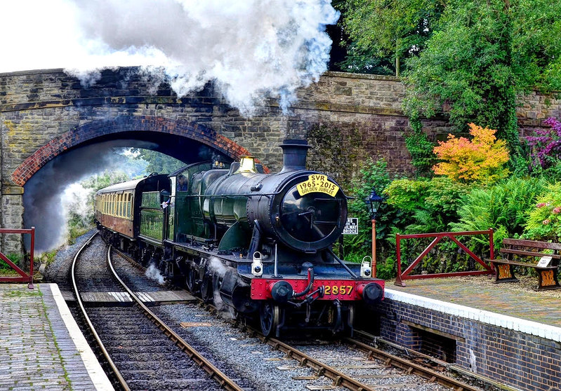 Severn Valley Railway, Worcestershire. Credit Baz Richardson