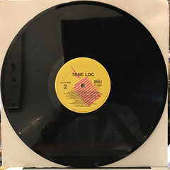 THE UZI BROS:THERE'S A RIOT JUMPIN' OFF(RECORD SIDE-B)
