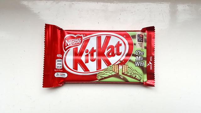 KitKat Choc Mint Whirl