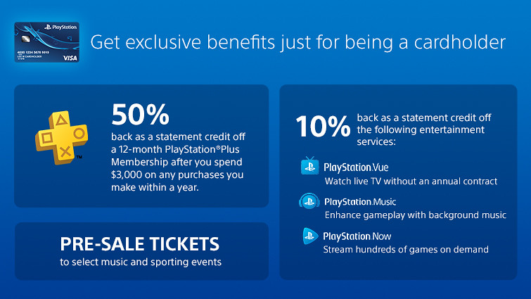 Introducing The New Playstation Credit Card Playstation Blog