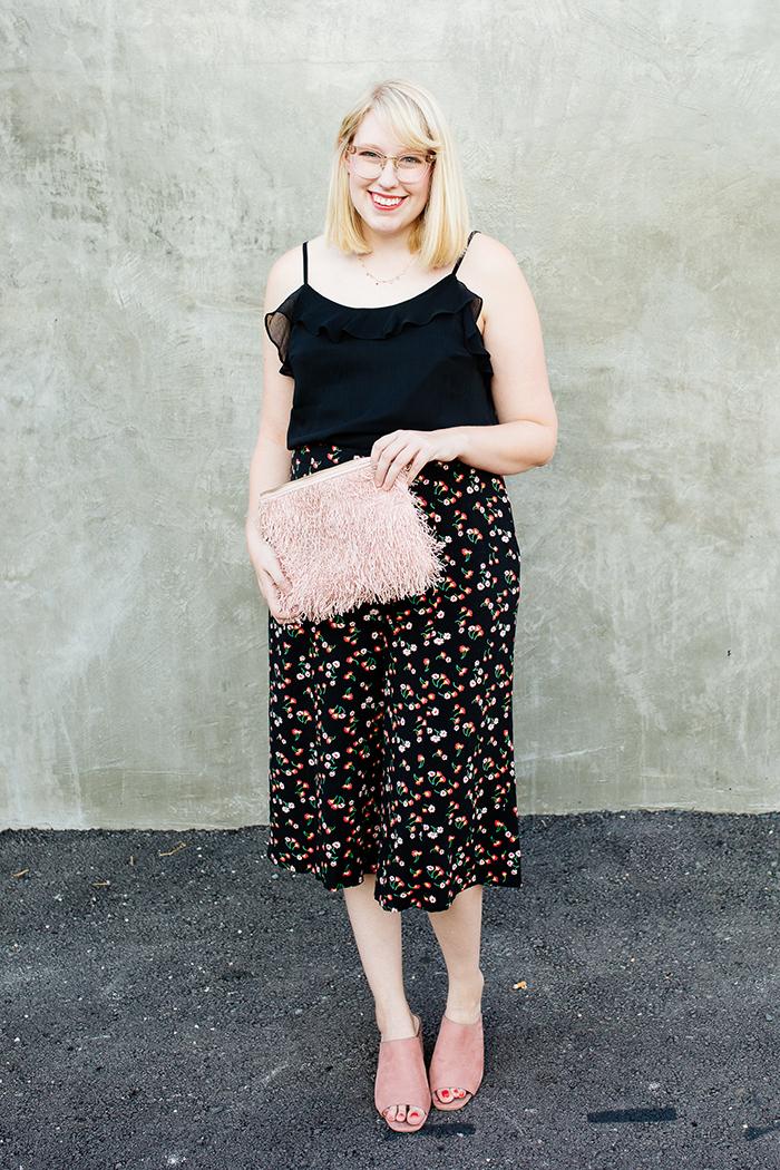 austin fashion blog writes like a girl black floral culottes5