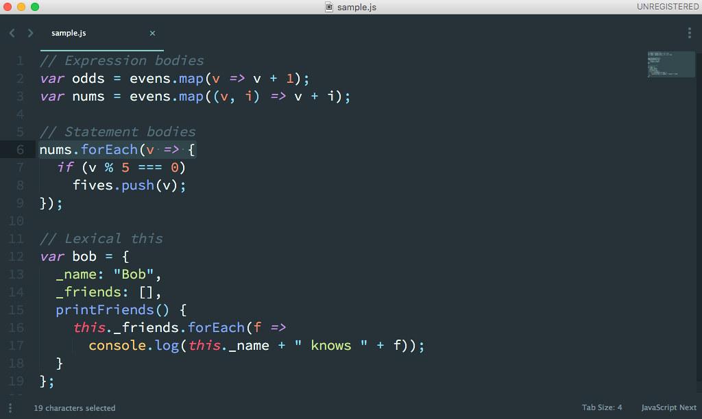 SublimeText3は高機能なテキストエディタ