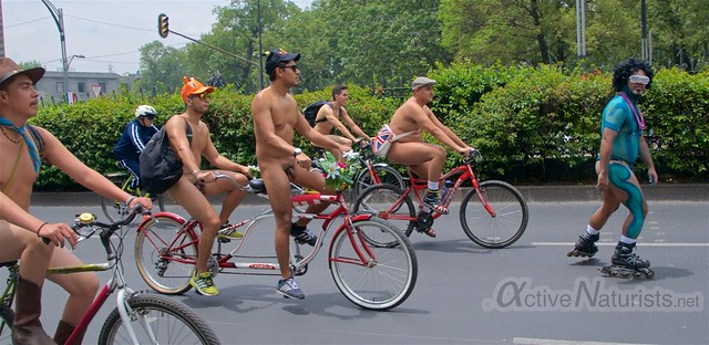 naturist 0009 WNBR World Naked Bike Ride, Mexico