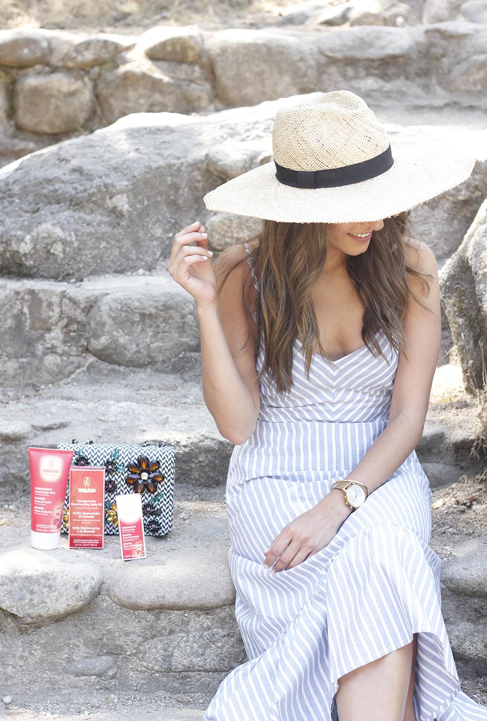 Weleda Granada belleza hidratante corporal cuidados verano beauty skin3