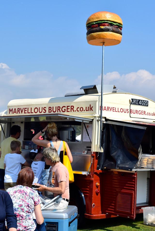 Burger Van at Love Hythe Food Festival | www.rachelphipps.com @rachelphipps
