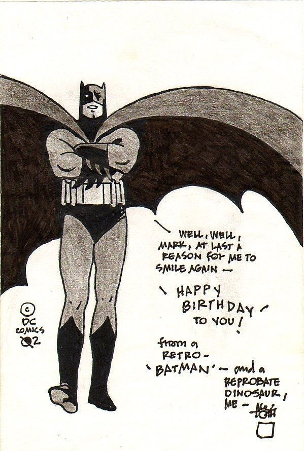 Batman card Toth 2002
