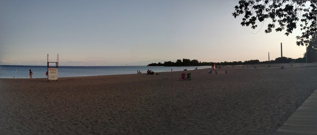 Panorama, Woodbine Beach