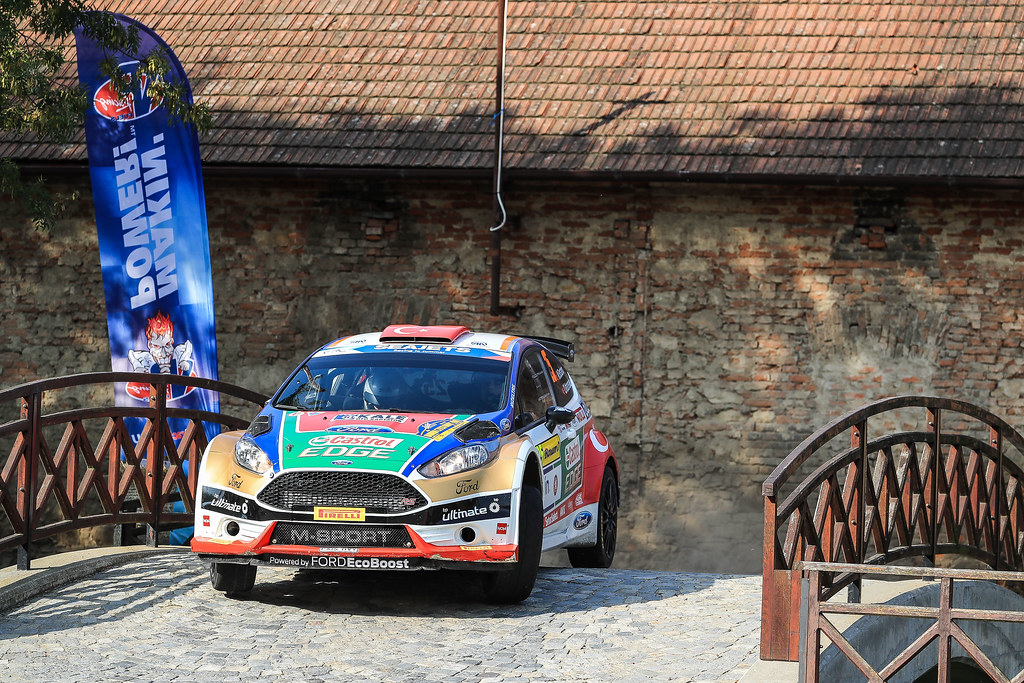 25 BOSTANCI Murat (TUR) VATANSEVER Onur (TUR) Ford Fiesta R5 action during the 2017 European Rally Championship ERC Barum rally,  from August 25 to 27, at Zlin, Czech Republic - Photo Jorge Cunha / DPPI