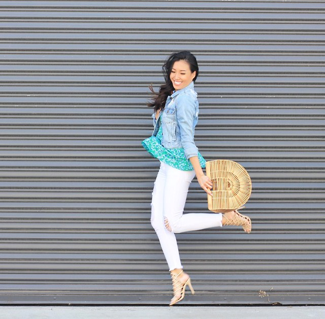 BANANA REPUBLIC,ITS BANANA,SIMPLY SOPHISTICATED SUMMER,SUMMER STYLE,fashion blogger,lovefashionlivelife,joann doan,style blogger,stylist,what i wore,my style,fashion diaries,outfit,MELIE BIANCO,ZERO UV,CULT GAIA,DENIM JACKET,STEVE MADDEN