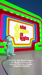 In 1972, Bob Barker began his 35 year stint as the host of The Price is Right. COME ON DOWN! 45 years ago. (09/04/17) #timehop #flashbackmonday #throwbackmonday #abe #bobbarker #cbs #thepriceisright #american #television #gameshow