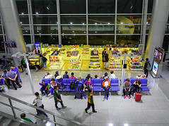 Tan Son Nhat Airport in Saigon, Vietnam