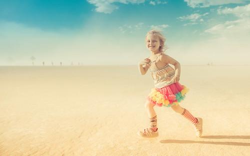 Burning Man Kid
