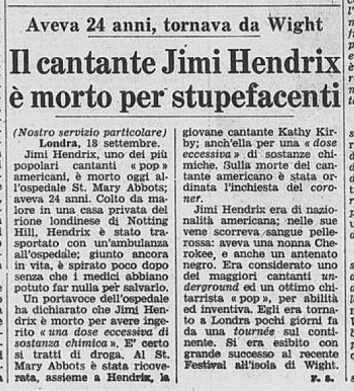 LA STAMPA (ITALY) SEPTEMBER 19, 1970