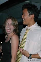 Danica's laugh and Choo.JPG