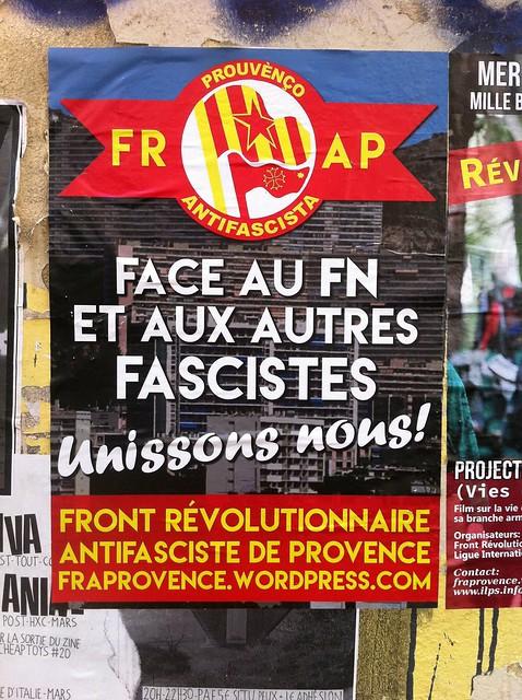 face au FN et aux autres fascistes: unissons nous!