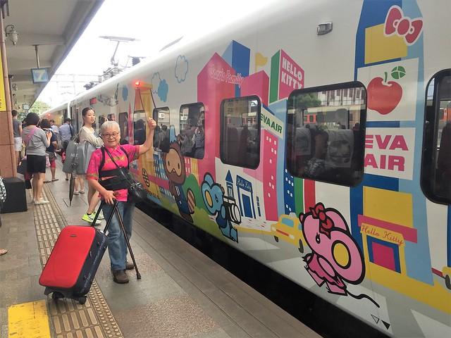 搭乘普悠瑪火車 (15)