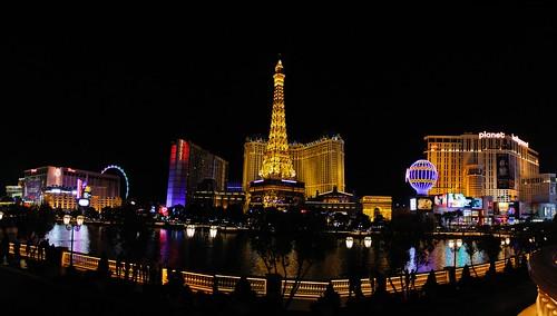 Las Vegas iluminada