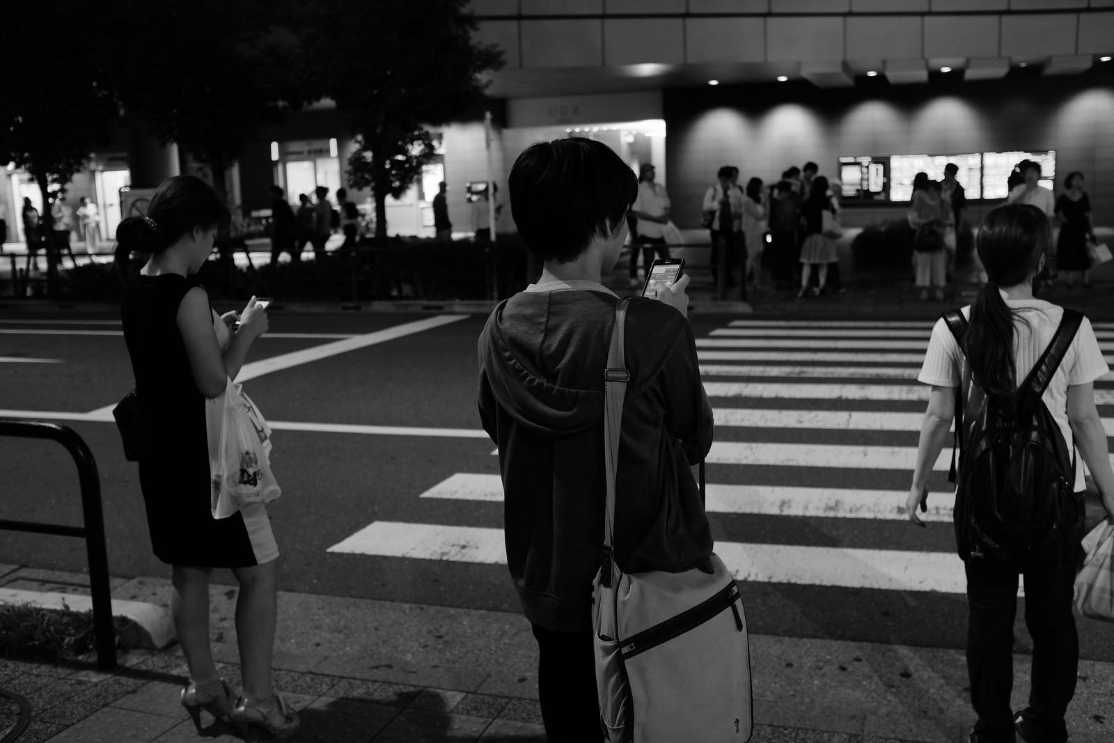 The Akihabara taken by FUJIFILM X100S.