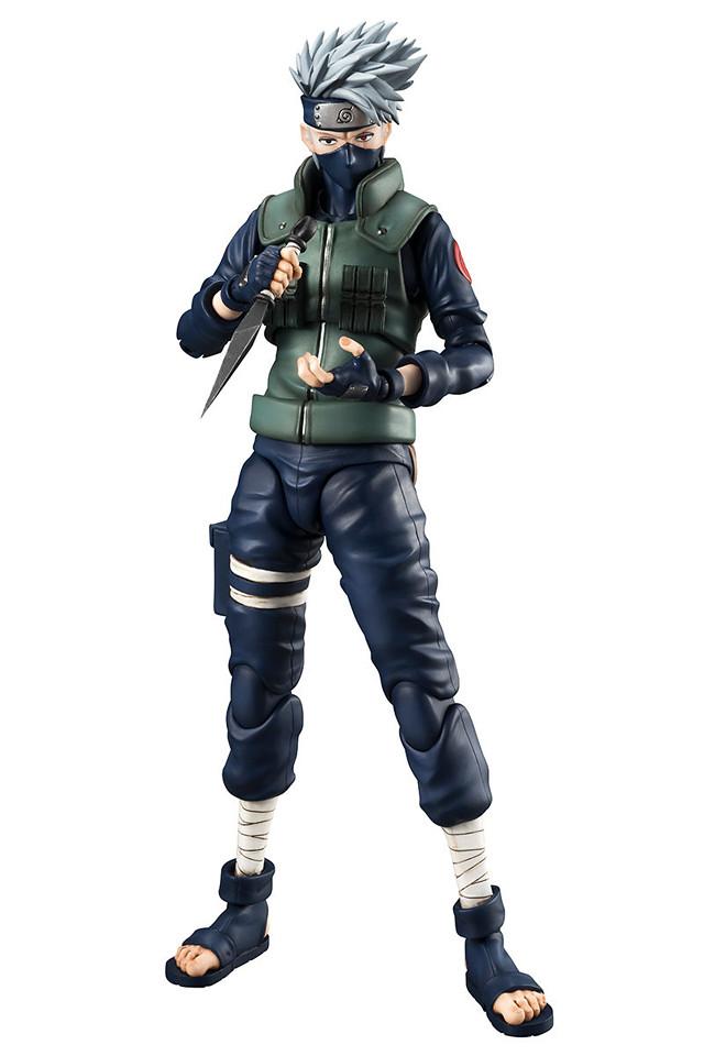 拷貝忍者登場!《火影忍者疾風傳》Variable Action Heroes DX 旗木卡卡西 NARUTO-ナルト- 疾風伝 はたけカカシ
