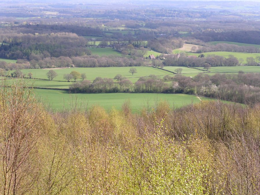 View from Ide Hill