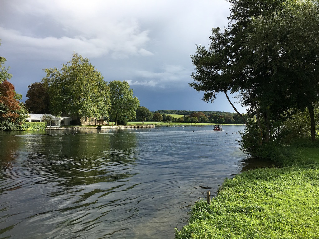 The Thames after rain Henley via Turville Circular walk