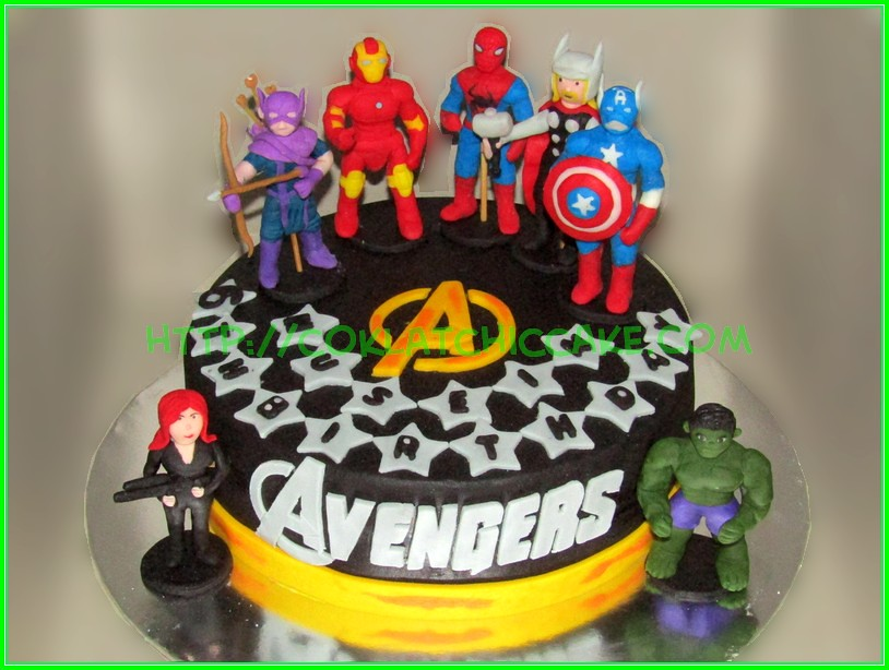 cake avengers Husein