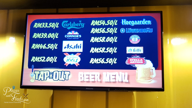 tap it out price list