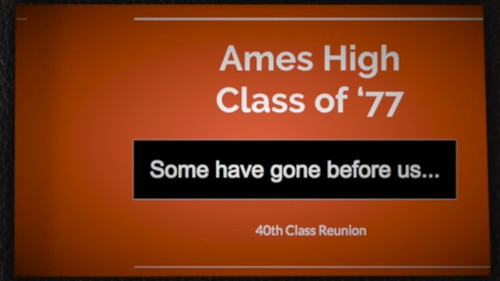 AHS 1977 Some Have Left Us presentation