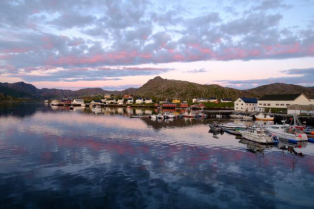 Fahrt nach Gjesvær August 2017
