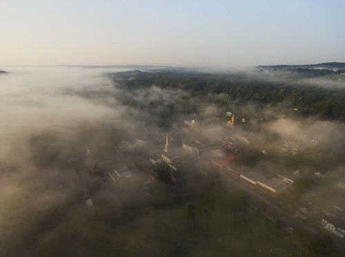 aerialphotography dronephotography drone drones aerial life landscape cny village country nys newyorkstate upstate marcellus beautiful fall autumn peaceful fog flying 2017 dji phantom4