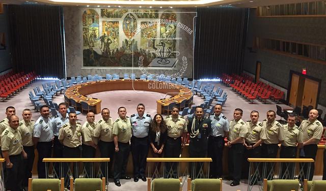 Visita a la Organización de Naciones Unidas