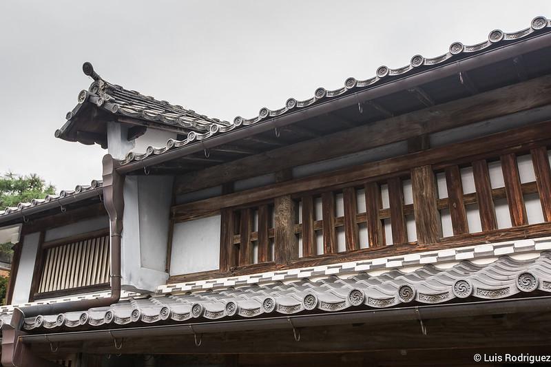 Udatsu o cortafuegos tradicional en Mino