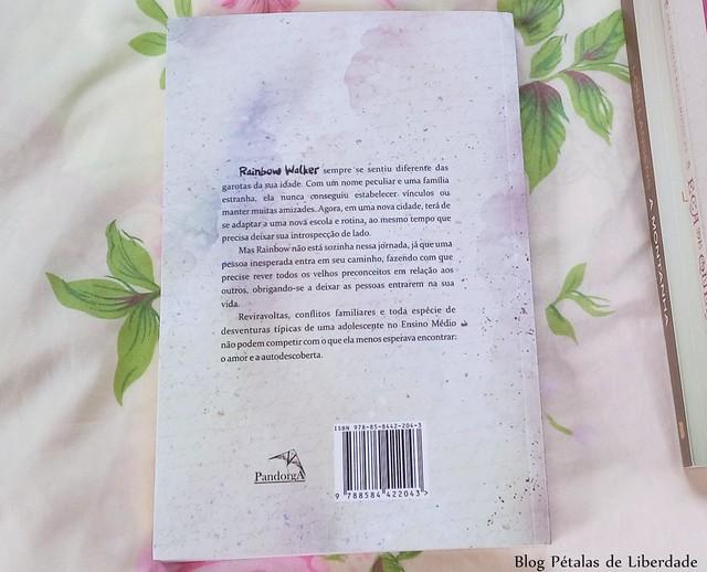 Livro Rainbow, M S Fayes, Editora Pandorga, trechos, citação, diagramação, fotos, opiniao, resenha, sinopse