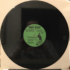 DEF CUT:STREET LEVEL REMIX(RECORD SIDE-B)