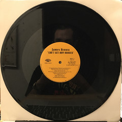 JAMES BROWN:CAN'T GET ANY HARDER(RECORD SIDE-B)