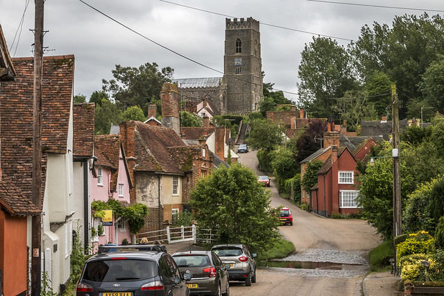 The village of Kersey in Suffolk. (Explored 17-8-17 #399)