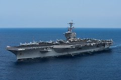 USS Theodore Roosevelt (CVN 71) transits the Pacific Ocean during COMPTUEX, Aug. 21. (U.S. Navy/MC3 Anthony J. Rivera)