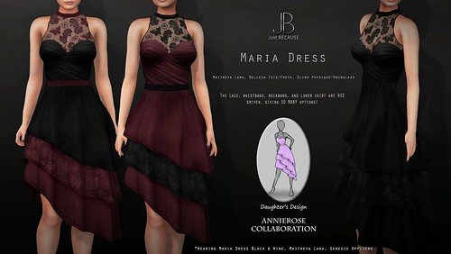 NEW! Maria Dress - an AnnieRose Collaboration! At the Mainstore