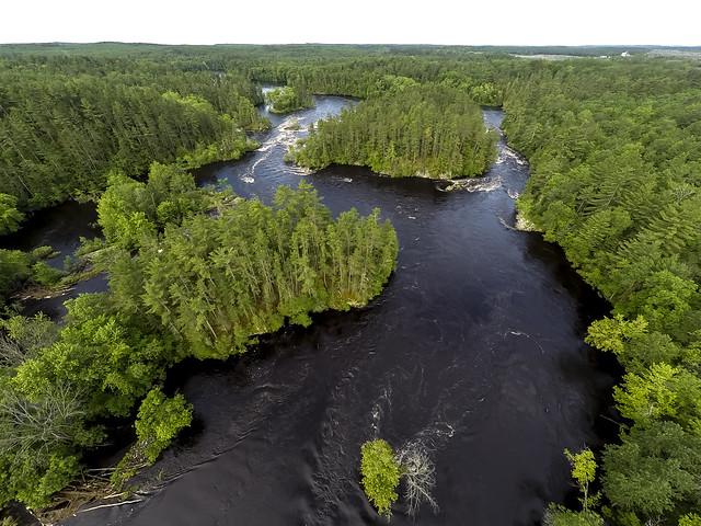 photo of Menominee River
