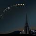Great American Total Solar Eclipse by Kouis Ou