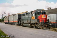 UP 1493 | EMD GP40M-2 | UP Memphis Subdivision
