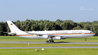 16+01 German Air Force Airbus A340-313 cn 274