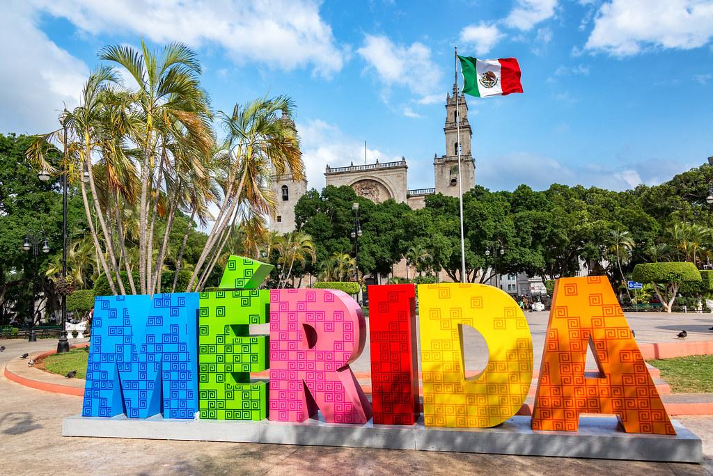 Llegada a Mérida