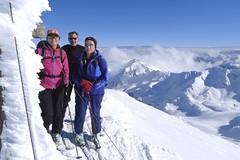 Skitour Südtirol, Sarntaler Alpen. Foto: Günther Härter.
