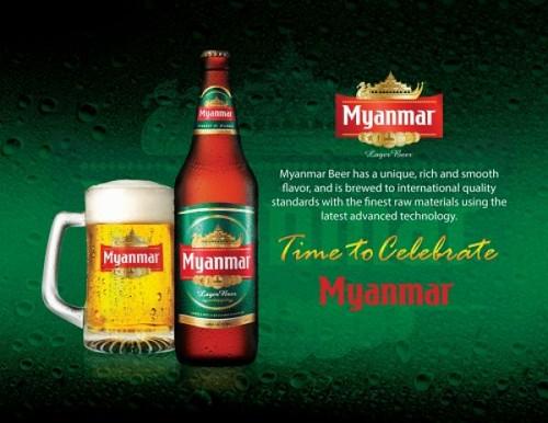 Burma: Myanmar beer