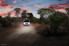 Sunset North Bank Gambia