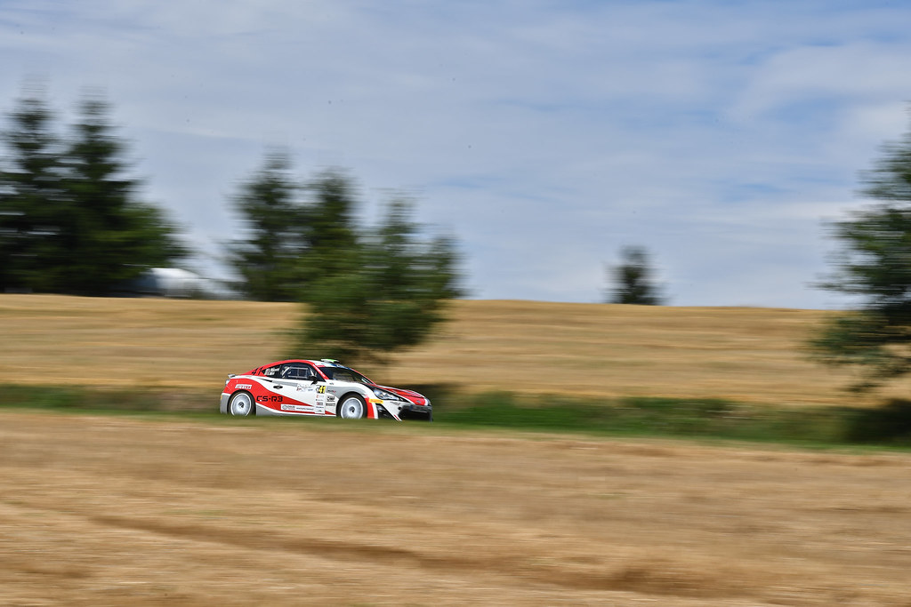 41 ROSSETTI Luca (ITA) MORI Eleonora (ITA) Toyota GT86 CS-R3 action during the 2017 European Rally Championship Rally Rzeszowski in Poland from August 4 to 6 - Photo Wilfried Marcon / DPPI