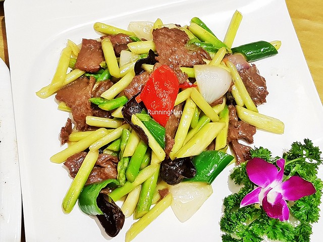 Stir-Fried Bamboo Shoots With Beef